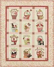 A TISKET A TASKET APPLIQUE QUILT PATTERN, From Bunny Hill Designs NEW