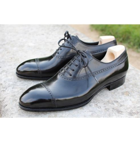 MENS HANDMADE schwarz BROGUE DRESS schuhe MENS PURE REAL LEATHER FORMAL schuhe