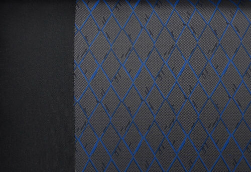 blue Car seat covers fit Hyundai Getz full set black