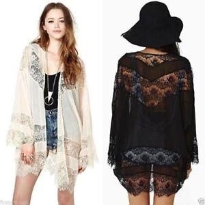 Blusa-bohemia-encaje-Bohemian-Chiffon-Sexy-Kimono-Lace-Crochet-Loose-Cardigan