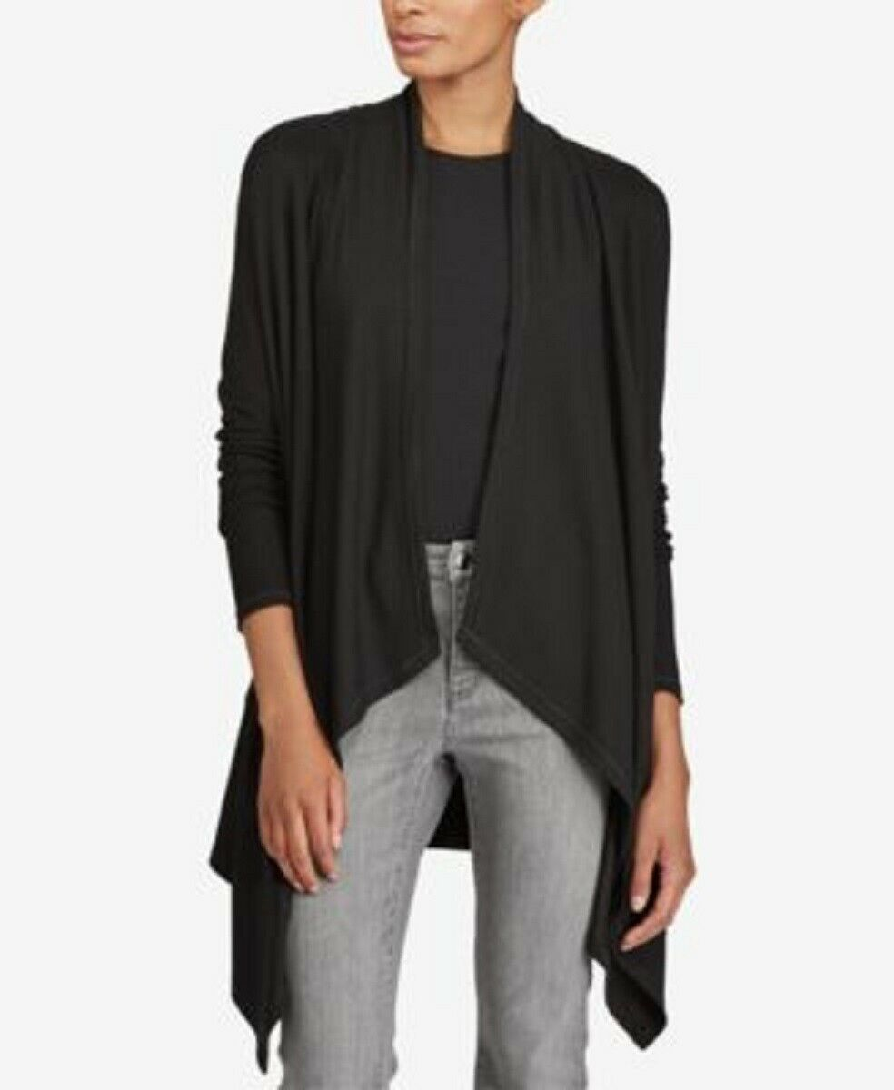 RALPH LAUREN  schwarz Long Sleeve Sweater 3X