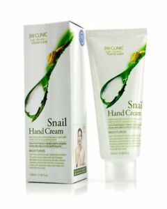 CRAZY-SALE-3W-CLINIC-Moisturizing-Snail-Hand-Cream-Made-in-KOREA-100ml