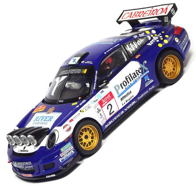 SCX Porsche 911 GT3 Rally Scalextric Slot Car 1 32 A10159