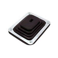 SMALL RUBBER SHIFTER BOOT WITH CHROME PLATE AUTOMATIC 350 400 700R4 C4 C6