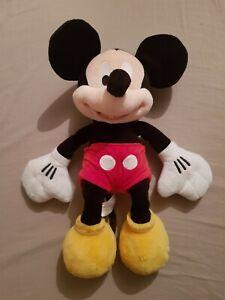 WALT-DISNEY-autentico-Disney-Store-MICKEY-MOUSE-20-Polegadas-Pelucia-Brinquedo-de-pelucia-macio