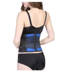 Neoprene-Double-Pull-Lumbar-Support-Lower-Back-Belt-Brace-Pain-Relief-Comfort