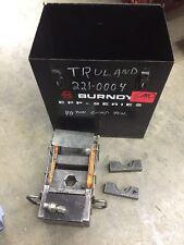 Thomas Amp Betts 21940 40 Ton Hydraulic Crimp Tool 11418 Dies Burndy Case More