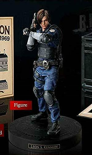 Resident Evil 2 Biohazard RE:2 Leon S Kennedy Figure Statue Collector/'s Edition