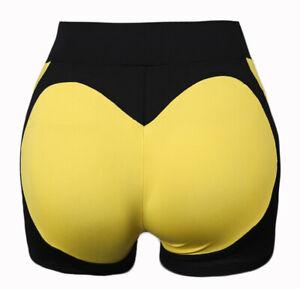 Ladies Stretch Biker Bike Shorts Workout Leggings Knee Length Short Pants US X76