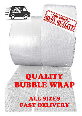 Small Bubble Wrap for Safe and Secure Packaging Removal and Storage 750mm x 5M