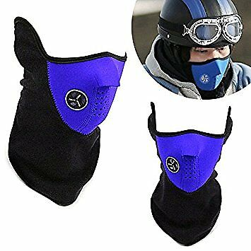 Winter Skull Bike Motorcycle Ski Protective Half Face Masks Very Cool For Sale Online Ebay