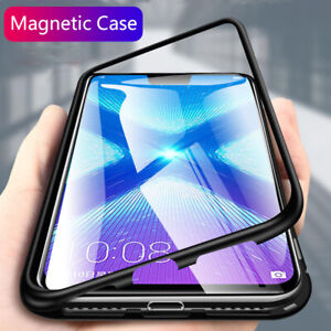 Details about Magnetic Adsorption Metal Case Cover for Huawei Honor 8X Y9  Mate20 P20 P30 Nova3
