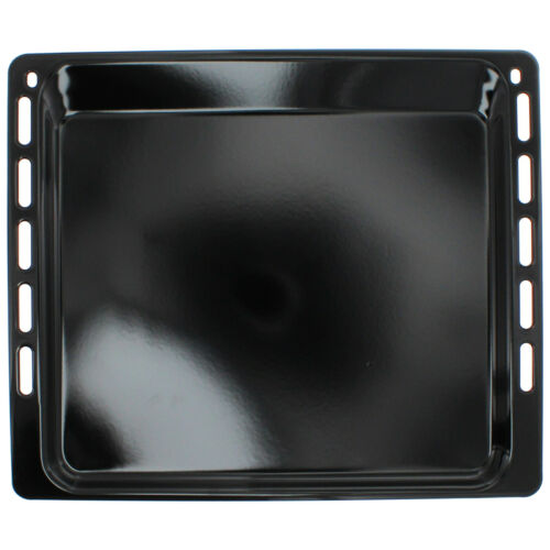 UNIVERSAL Oven Cooker Baking Tray Enamelled 445mm x 375mm x 16mm