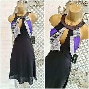 RINASCIMENTO 💋 UK S NEW £115 Italia Designers Fit & Flare Dress ~Free P&P ~