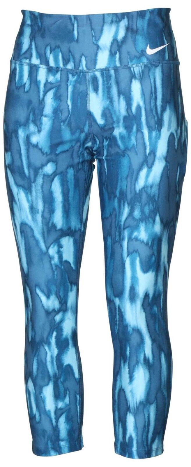 NIKE DRI-FIT WOMEN'S LEGEND TRAINING CROP PANTS blueE 833747 457 SIZE S