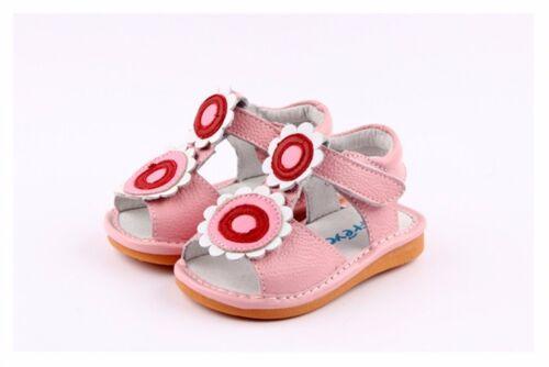 Freycoo Genuine Leather Kids Girls Shoes Sandals 6230PK sz 5 6 7 8 9 10