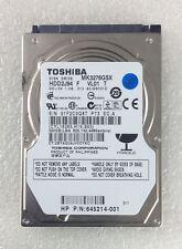 Hard Disk Drive HDD spares parts FAULTY TOSHIBA 320GB MK3276GSX HDD2J94 VL01