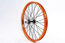 KHE BMX Vorderad KHE EASY-O Felge orange AFFIX Nabe schwarz präzisionsgelagert