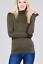 Women-Long-Sleeve-T-Shirt-Slim-Fit-Turtle-neck-Pullover-High-Tops-Casual thumbnail 12