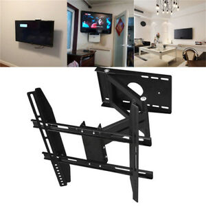 Image Is Loading Swing Arm Cantilever Tv Bracket Wall Mount Removeable