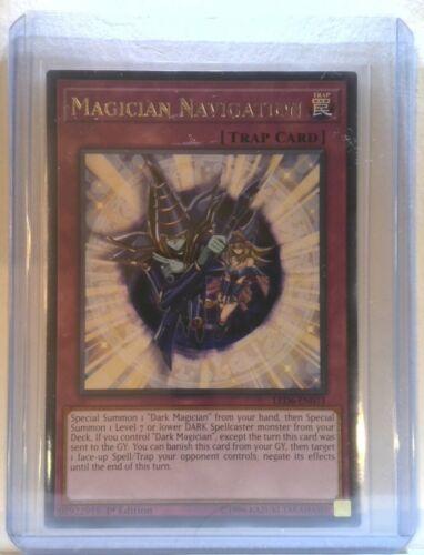 Rare LED6-EN011 1st Edition Magical Hero Near Mint 3x Magician Navigation