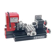 Signswise High Quality Motorized Mini Metal Working Lathe Machine DIY Tool Metal