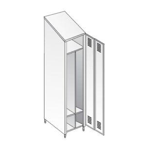 Armario-vestidor-acero-inoxidable-304-empleados-tejado-inclinado-RS6014