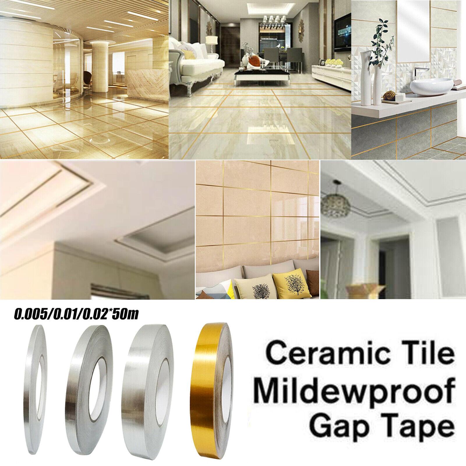Ceramic Tile Mildewproof Gap Tape Self-adhesive Kitchen Seam Sticker Mildew