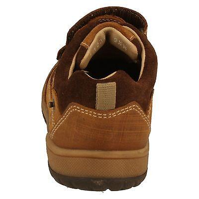 Jungen Startrite hellbraunes Leder Klettverschluss Riemen Schuhe UK Kleinkinder