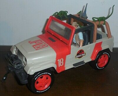 Jurassic World Legacy Collection MBX Jeep Wrangler with Winch Jurassic Park NEW