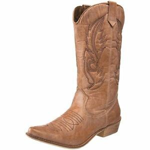 Women-039-s-Coconuts-By-Matisse-Gaucho-Boot-Tan-FREE-SHIPPING