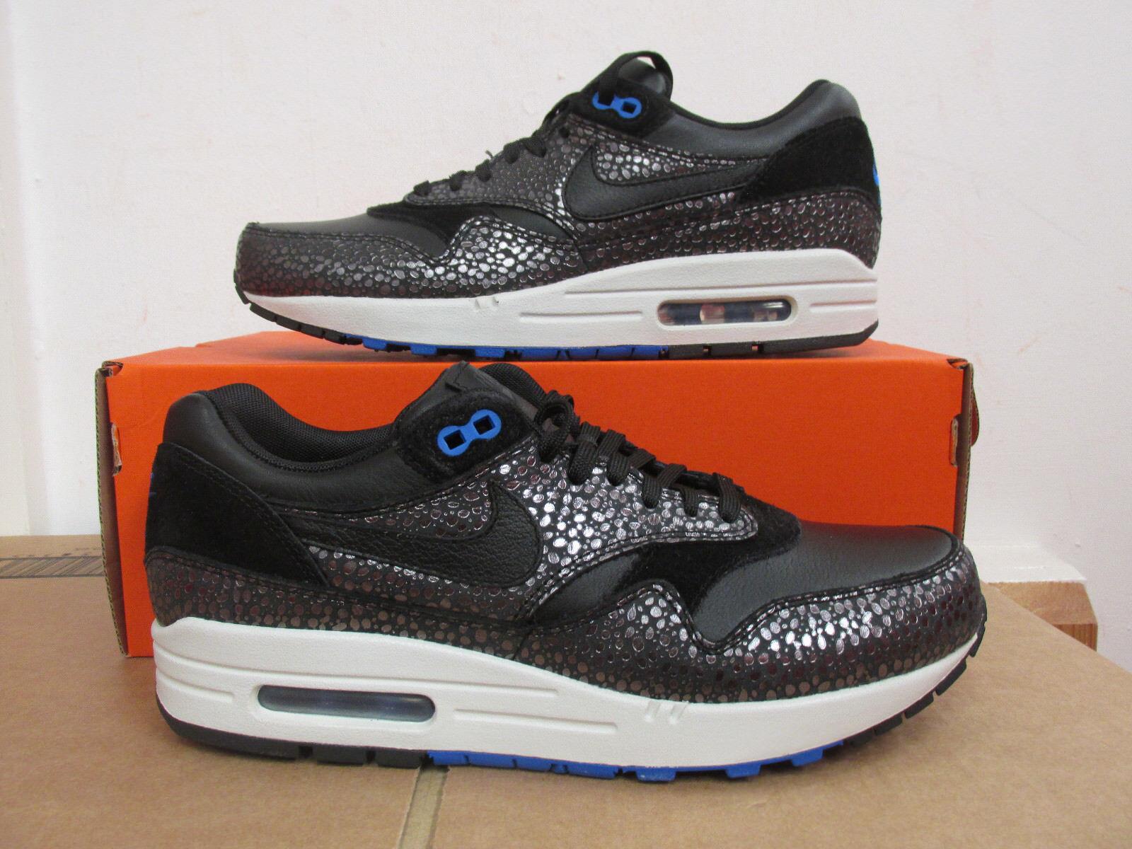 Nike air max 1 deluxe Uomo formatori 684708 001 scarpe, scarpe di autorizzazione