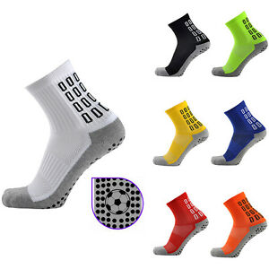 Non-Slip-Socks-Men-039-s-Soccer-Ankle-Socks-Winter-Sports-Athletic-Football-Socks