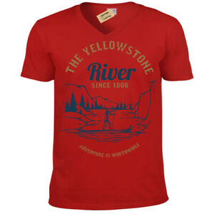 Adventure-Is-Worthwhile-T-Shirt-Mens-V-Neck