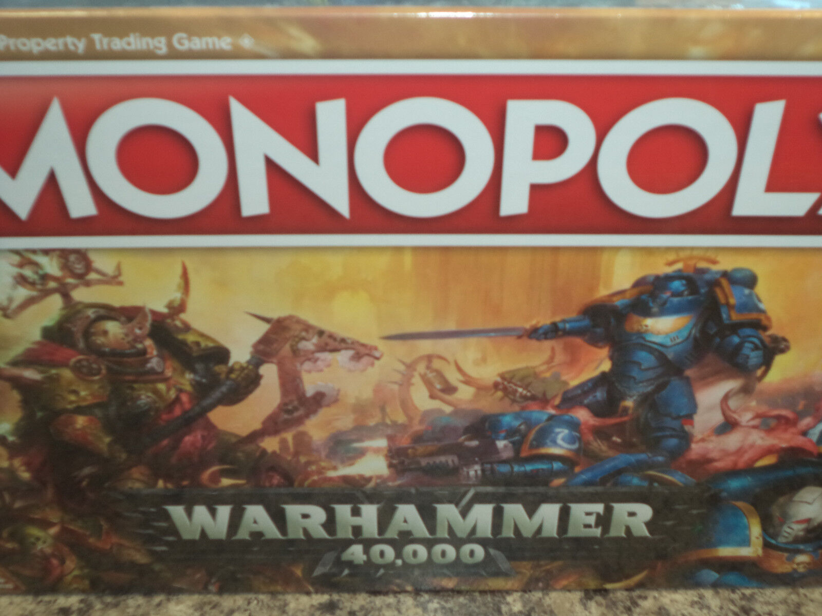 Warhammer 40k 40,000 Edition Monopoly - USAopoly Games Board Game Nuovo