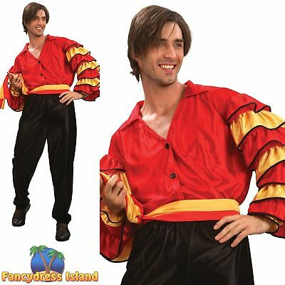 Male Music Fancy Dress Costume One Size Rumba Adult Female