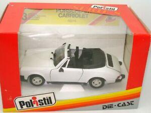 Polistil-1-25-0221-Porsche-911-Cabrio-mint-amp-boxed-L2-de-40-anos-de-edad