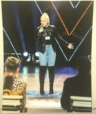 Country Autographs-original Gabby Barrett American Idol Country Star Signed 8x10 Photo Pittsburgh W/proof Rapid Heat Dissipation