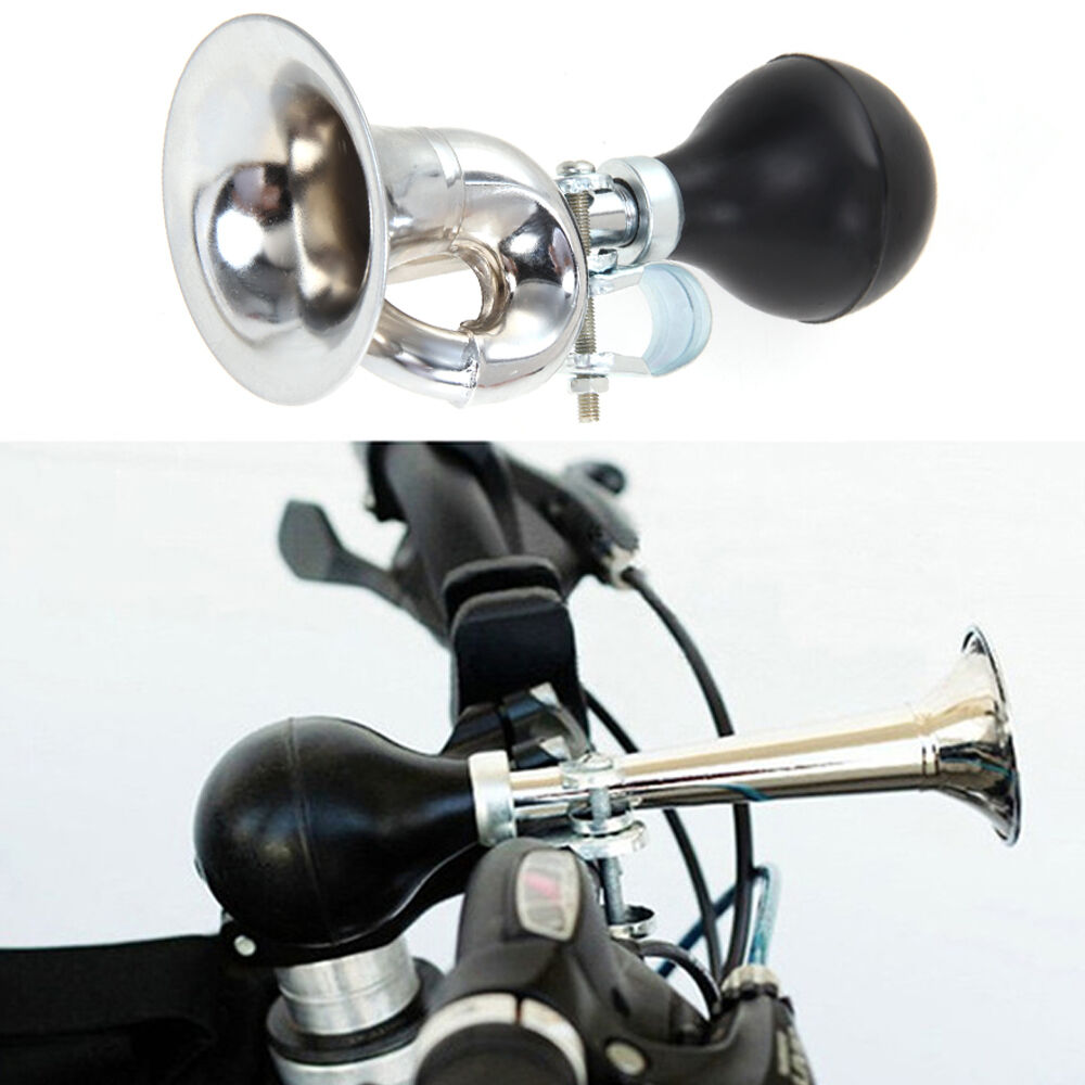 Non-Electronic Trumpet Loud Bicycle Cycle Bike Bell Vintage Retro Bugle Hoo L9K8