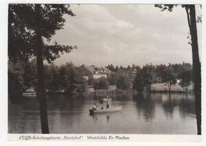 2-511-AK-WEINBOHLA-HEIDEHOF-SACHSEN-BOOT-HAUSE-MENSCHEN-unbeschrieben-Eulitz-DDR