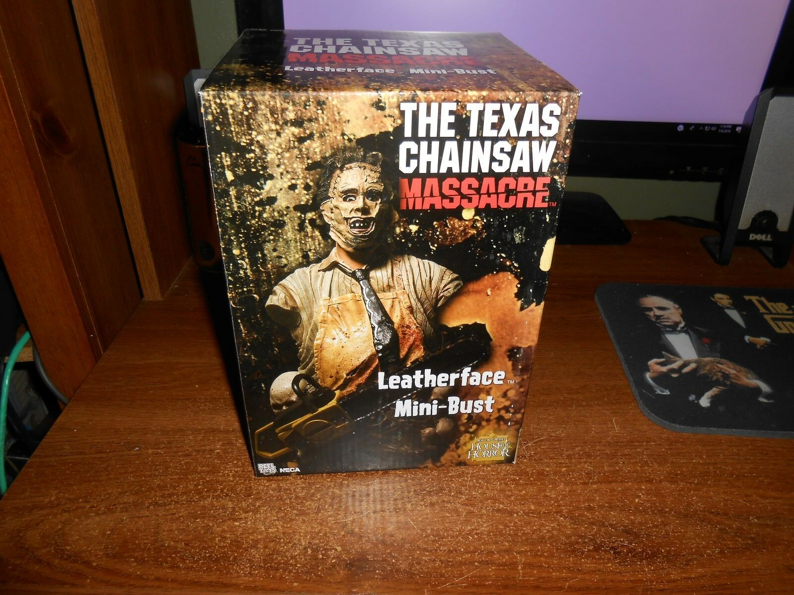 NECA TEXAS CHAINSAW MASSACRE MINI-BUST ONLY 1500N 1500N 1500N MADE L@@K BRAND NEW FREE SHIP  0bc29d