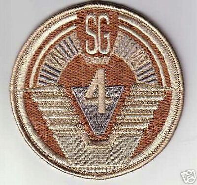 STARGATE SG-X DESERT CAMO PATCH SGXdc