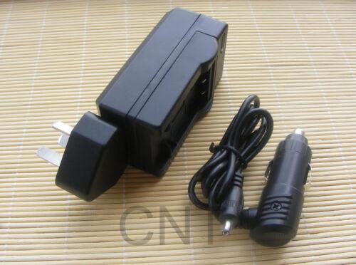 Batería O Casa//Coche Cargador Para Fujifilm NP-50 XF1 X10 XP100 XP150 XP170 S12