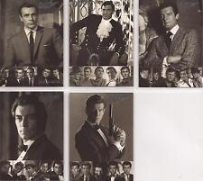 "James Bond Quotable - ""Vintage Bond"" Set of 5 Chase Cards #VB1-5"