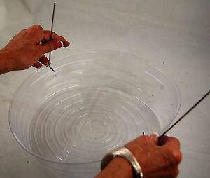 12 Quot Clear Vinyl Hanging Basket Drip Pan Plastic Pack Of 5