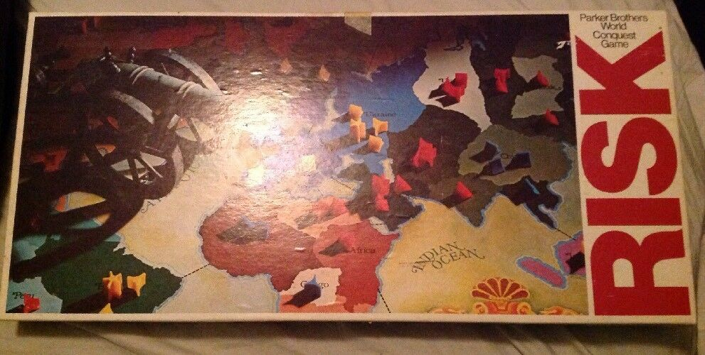 Risk World Conquest Parker Brothers Board Game Vintage 1975 Includes Includes Includes Manual e2540d