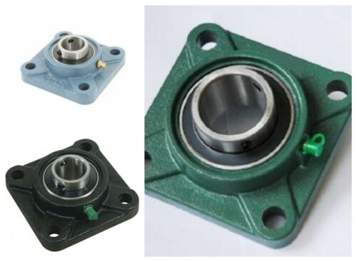 Square Bearing Unit UCF Self Lube Housed  Metric and Imperial 4 Bolt Flange