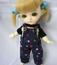 Lati Yellow Doll Outfit Star Print Blue Jumpsuit Pants