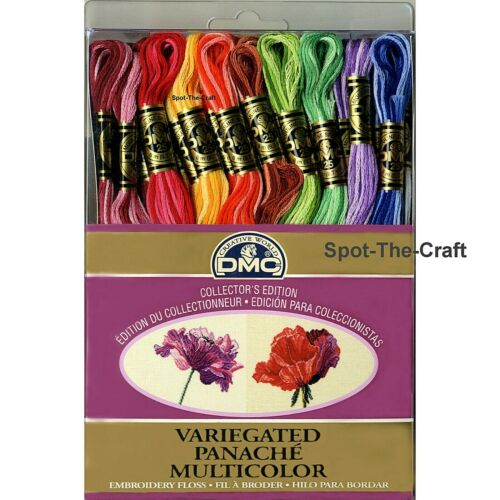 DMC Floss Variegated 36 Skeins 6 Strand Embroidery Thread Collector/'s Edition