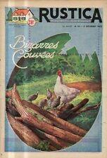 RUSTICA n°50 1953 bizarres couvees